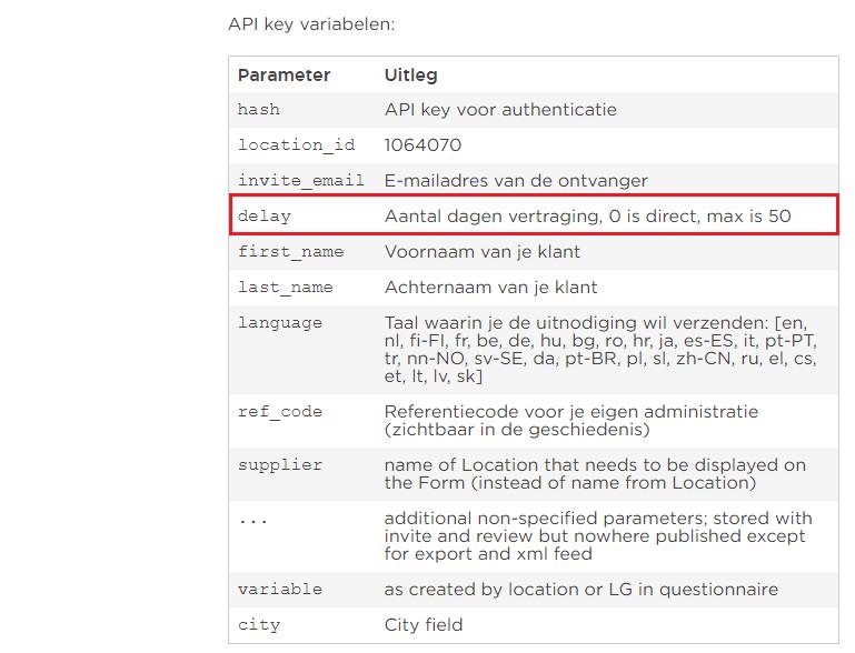 API delay screenshot