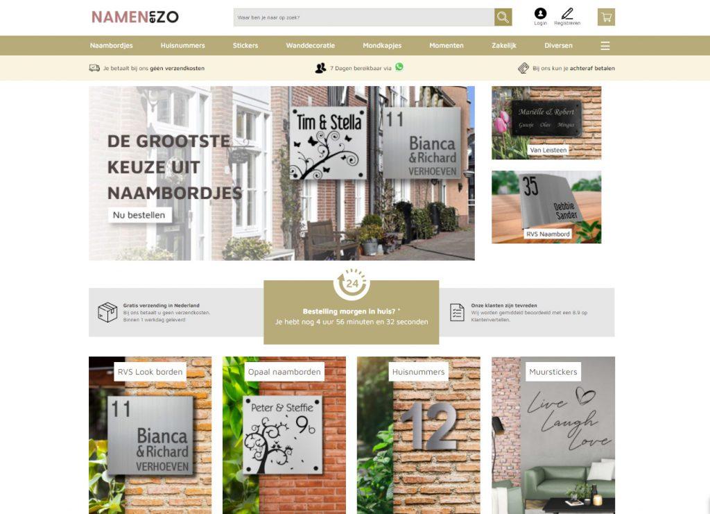 Homepage_Namenenzo