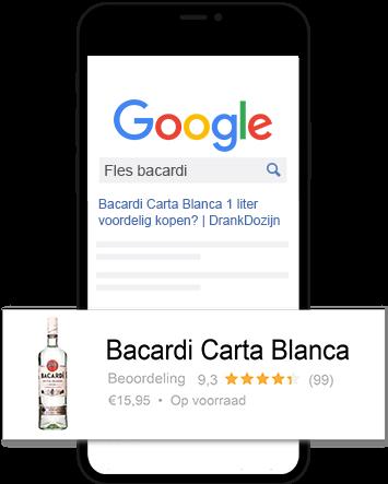 Product review voorbeeld rum
